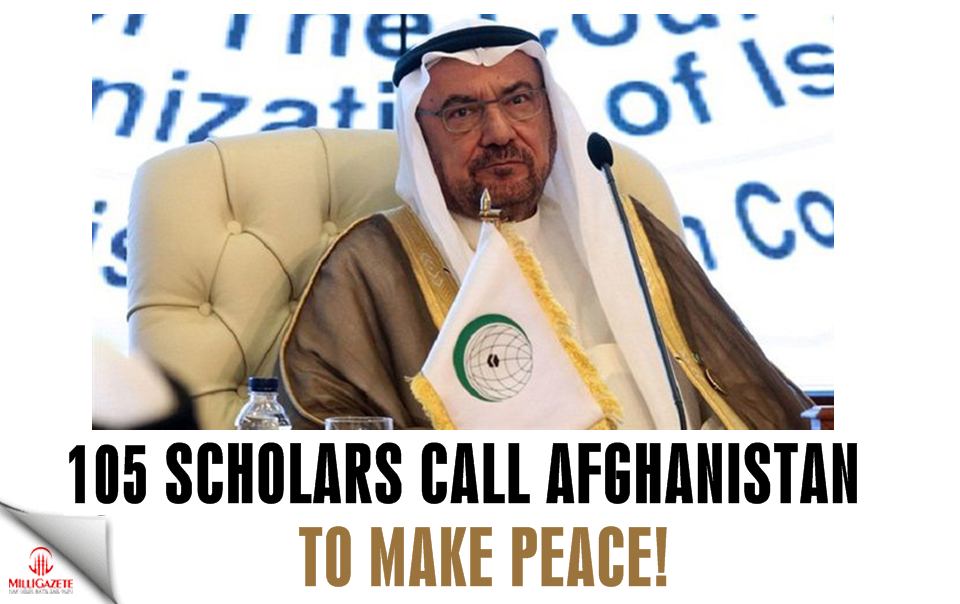 105 scholars call Afghanistan to make peace!