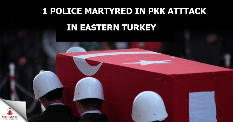 1 police martyred in PKK attack in eastern Turkey