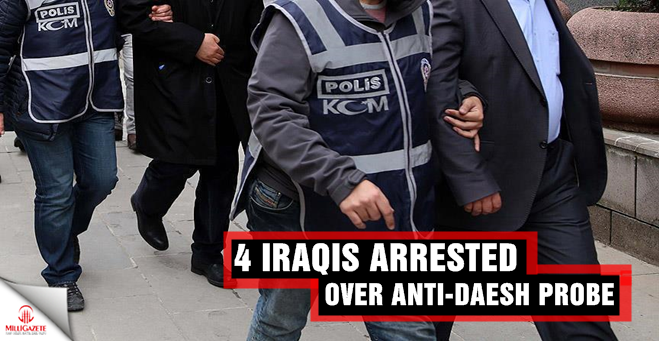 4 Iraqis arrested in anti-Daesh probe