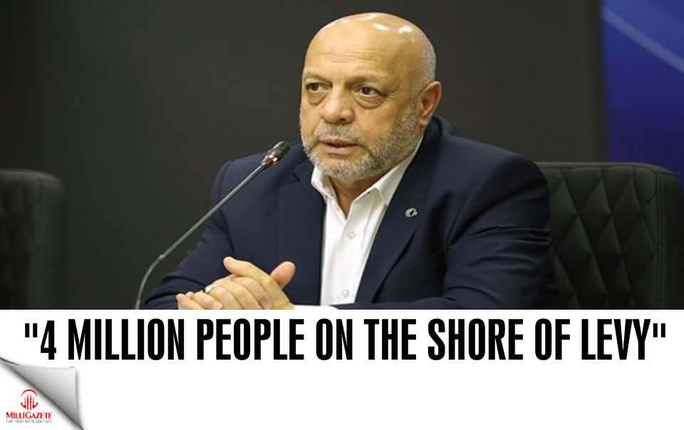 4 million people on the shore of levy