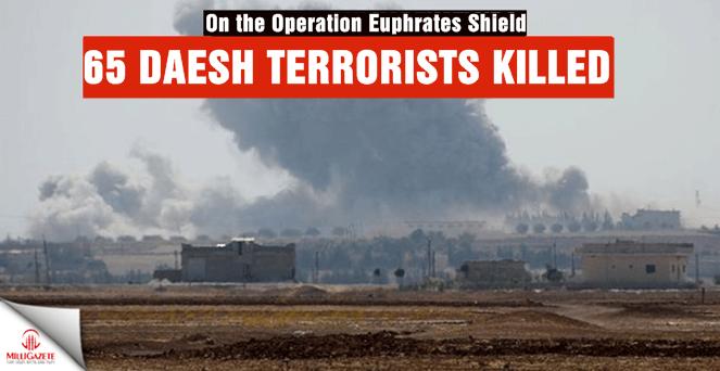 65 Daesh terrorists killed in north Syria