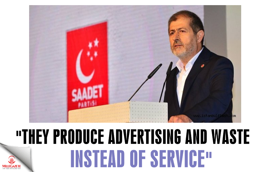 Abdullah Sevim: They produce advertising and waste instead of service, they manage perceptions rather than Istanbul