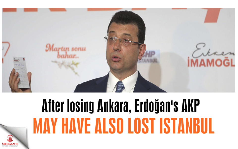 After losing Ankara, Erdoğan's AKP may have also lost Istanbul