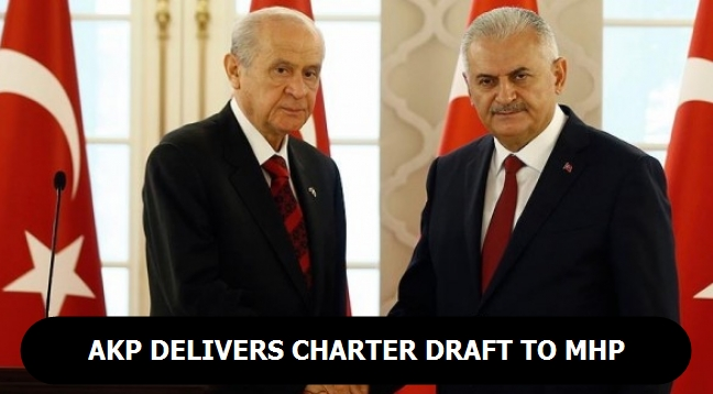 AKP delivers charter draft to MHP