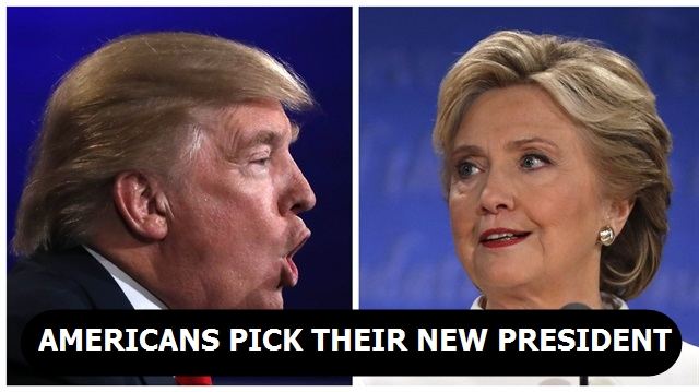 Americans pick their new president