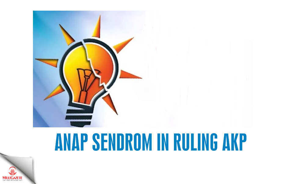 ANAP sendrom in ruling AKP