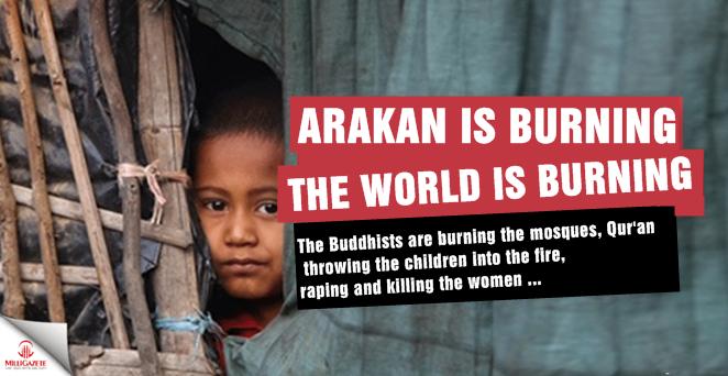 Arakan is burning! The World is burning!