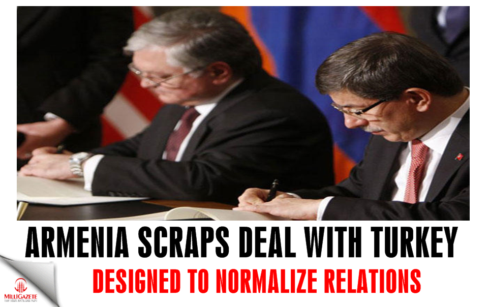 Armenia scraps deal with Turkey designed to normalize relations