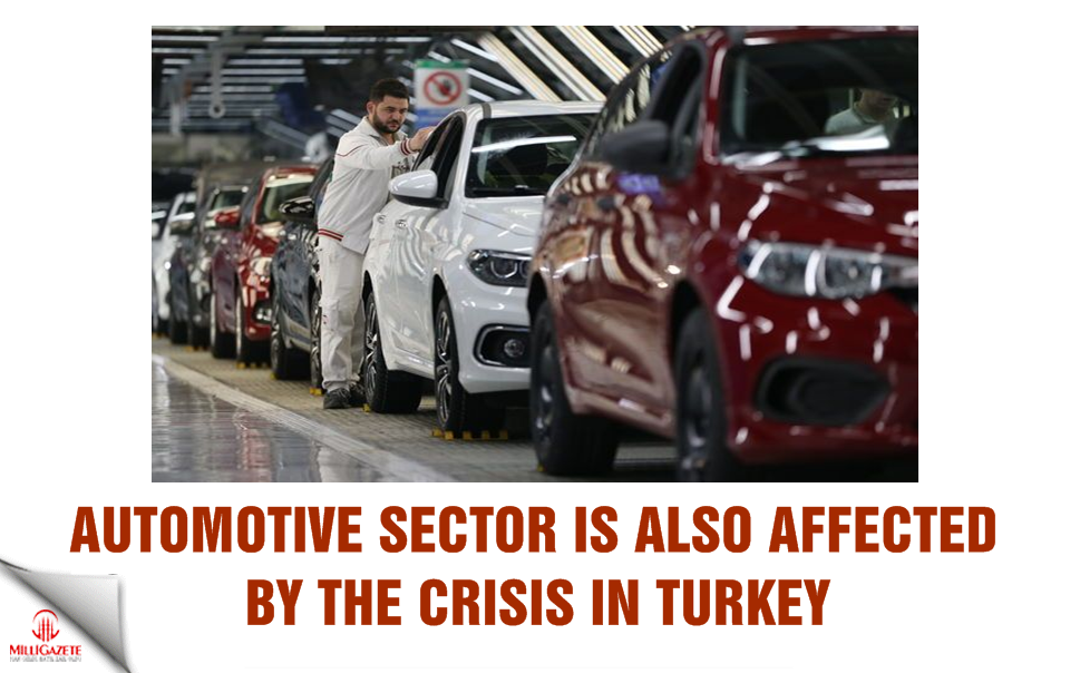 Automotive sector is also affected by the crisis