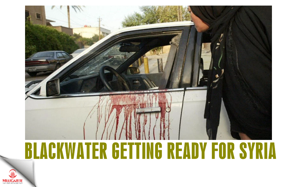 Blackwater getting ready for Syria