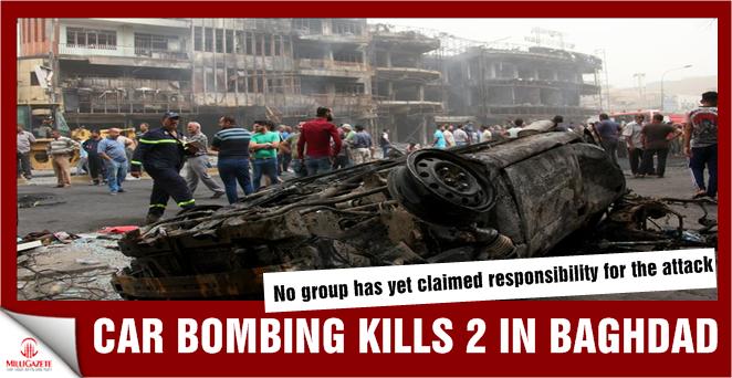 Car bombing kills 2 in Iraq's Baghdad