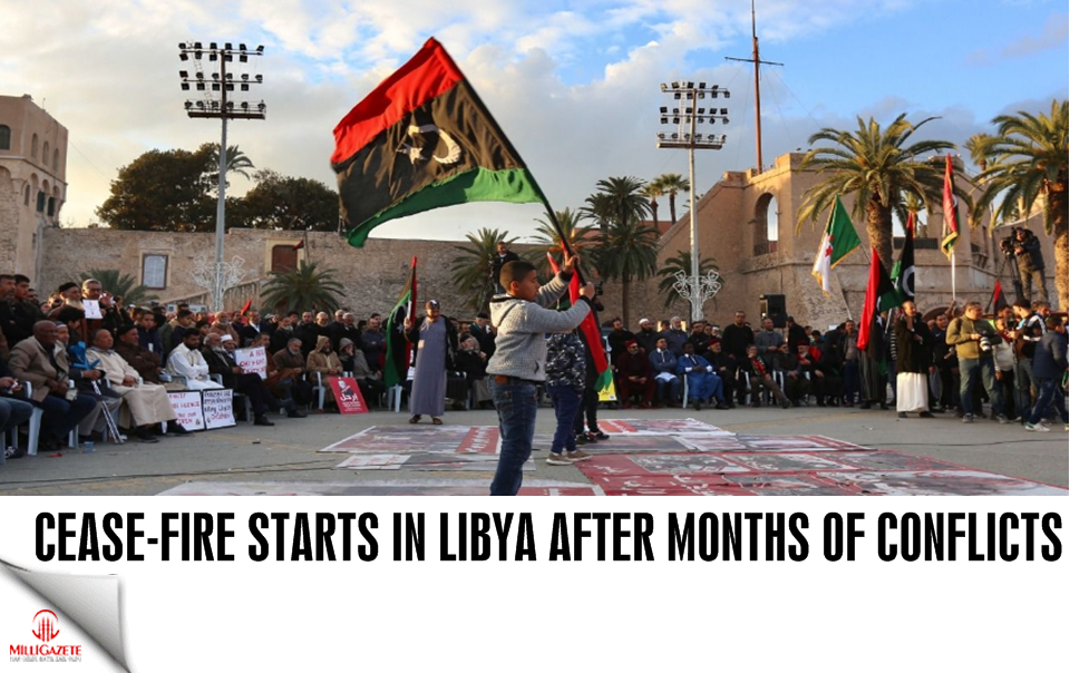 Cease-fire starts in Libya after months of conflicts