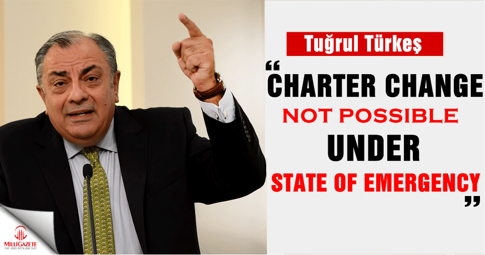 `Charter change not possible under state of emergency`