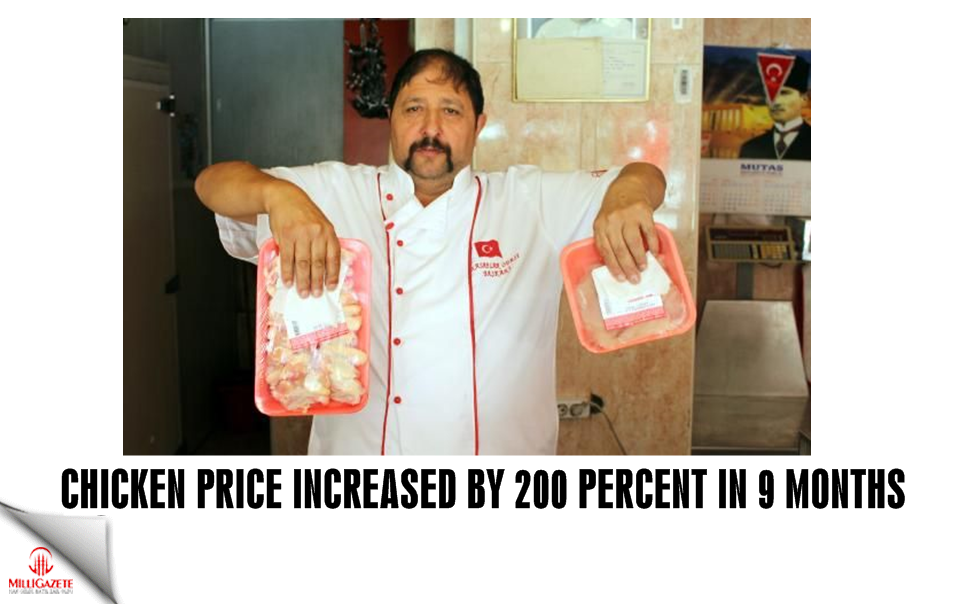 Chicken price increased by 200 percent in 9 months