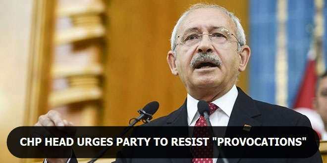 CHP head urges party to resist