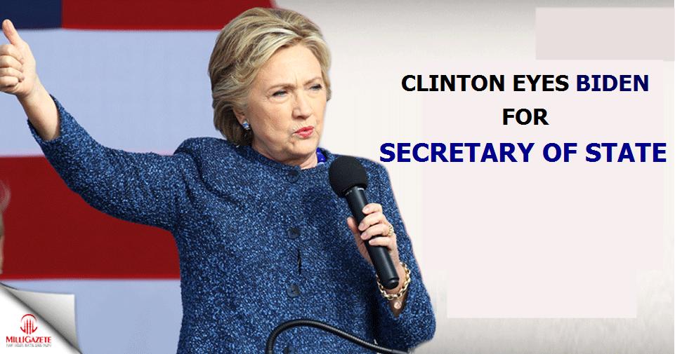 Clinton eyes Biden for secretary of state
