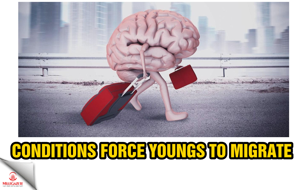Conditions force young people to migrate
