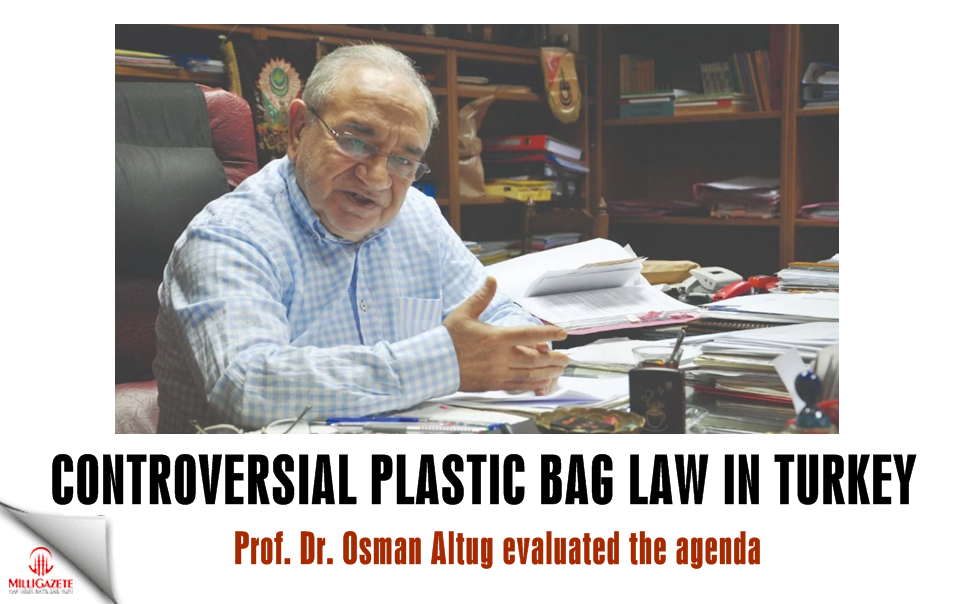 Controversial plastic bag law in Turkey