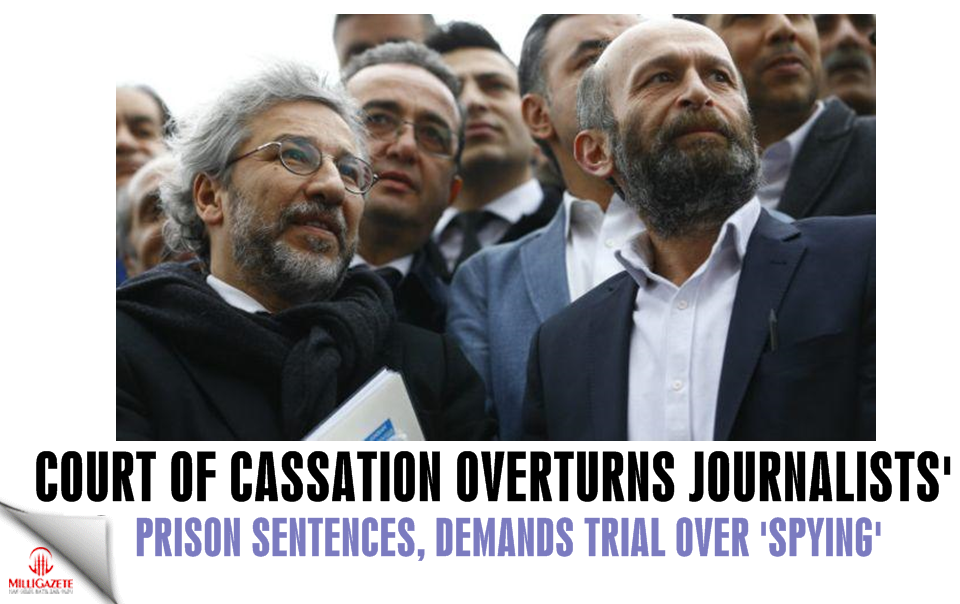 Court of Cassation overturns journalists' prison sentences, demands trial over 'spying'