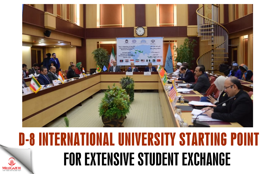 D-8 Intl. Uni. starting point for extensive student exchange