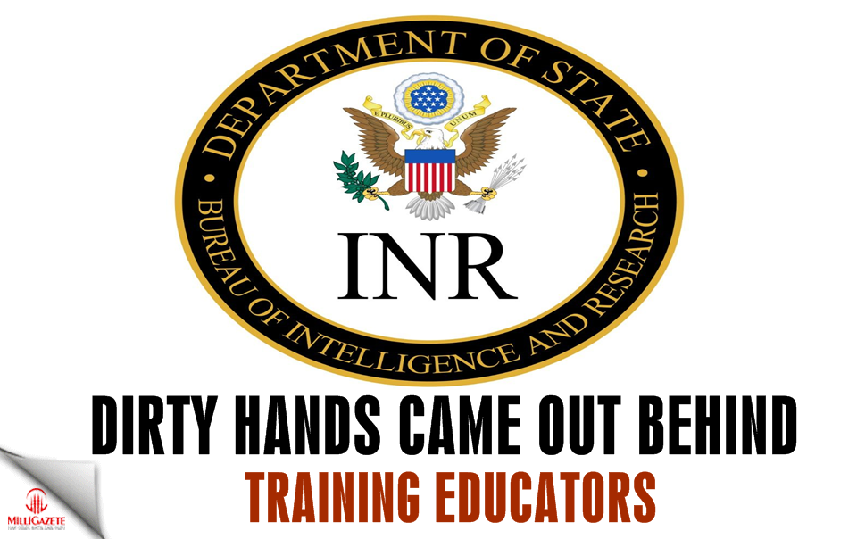 Dirty hands came out behind training educators