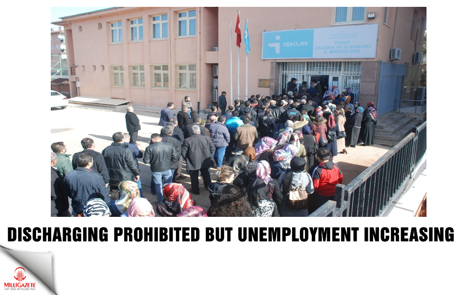 Discharging prohibited but unemployment increasing