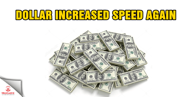 Dollar increased speed again