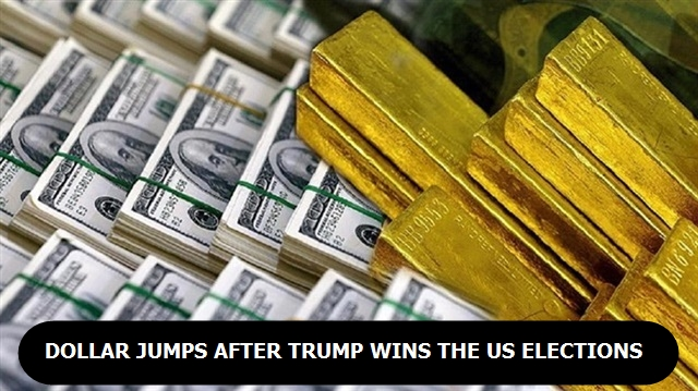 Dollar jumps after Trump wins the US election