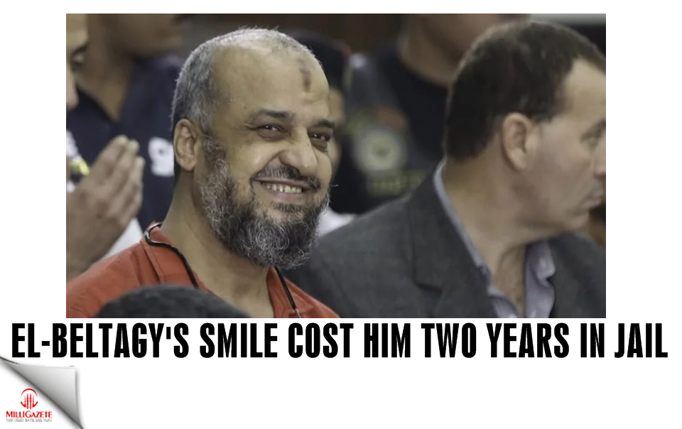 El-Beltagy's smile cost him two years in jail