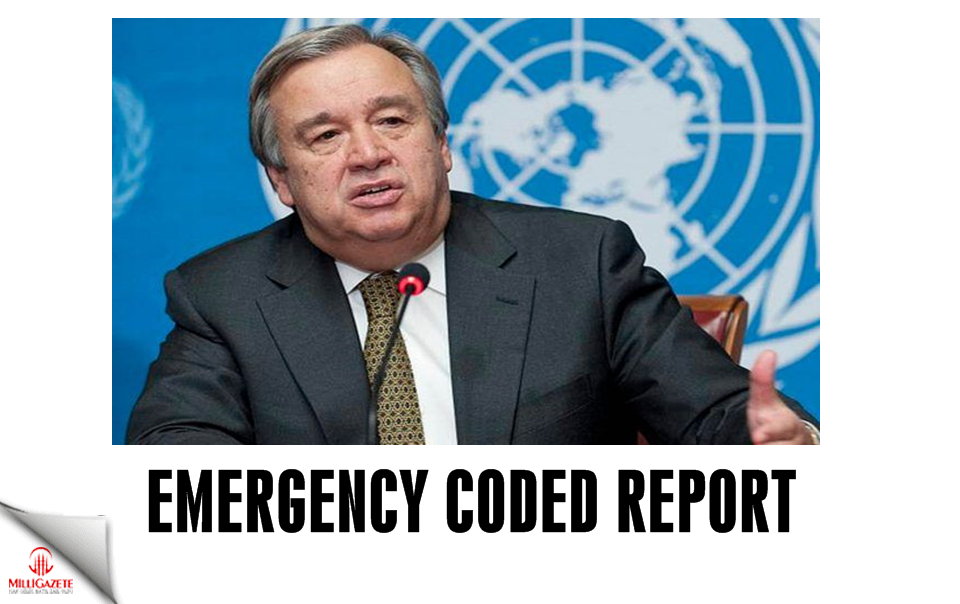 Emergency coded report