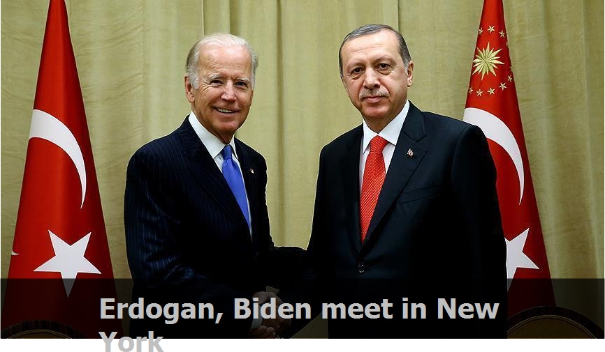 Erdogan, Biden meet in New York
