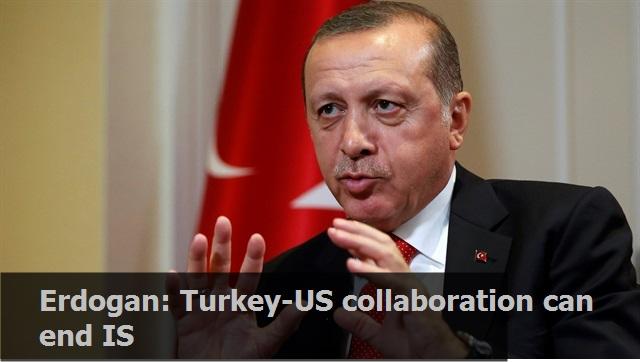 Erdoğan: Turkey-US collaboration can end IS