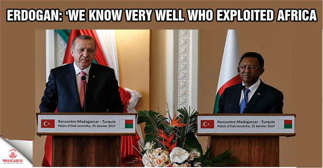 Erdogan: 'We know very well who exploited Africa'