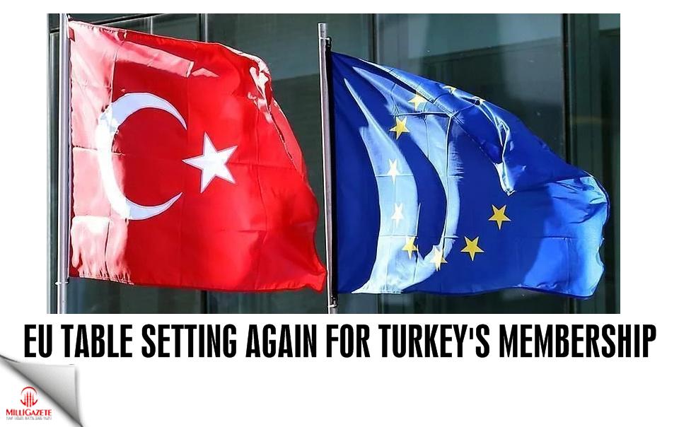 EU table setting again for Turkey's membership