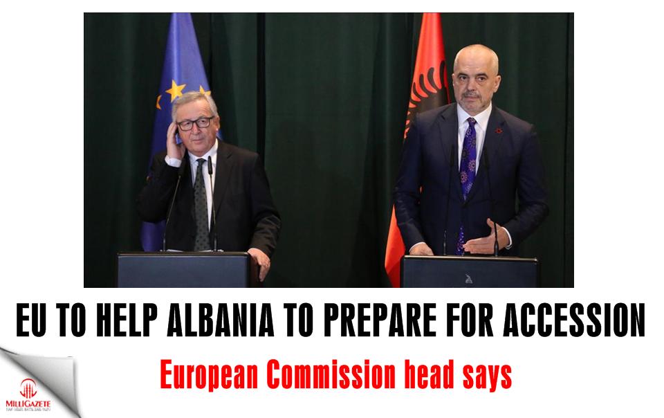 EU to help Albania to prepare for accession: Juncker
