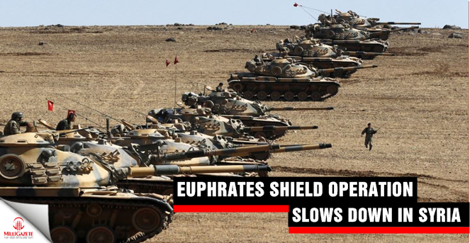 Euphrates Shield operation slows down in Syria
