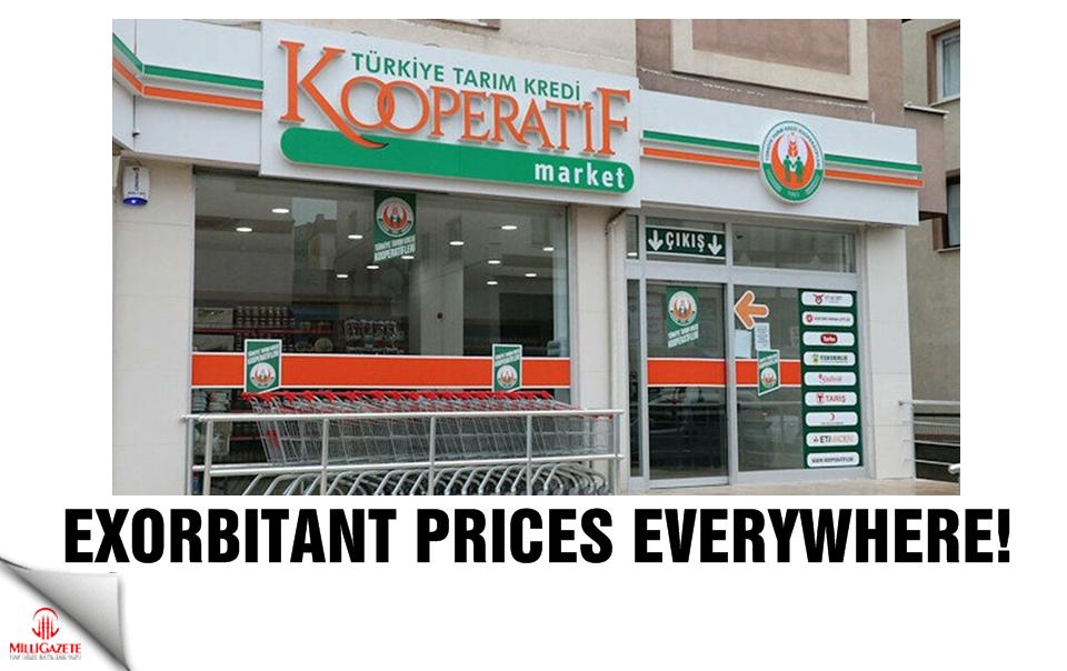 Exorbitant price everywhere!