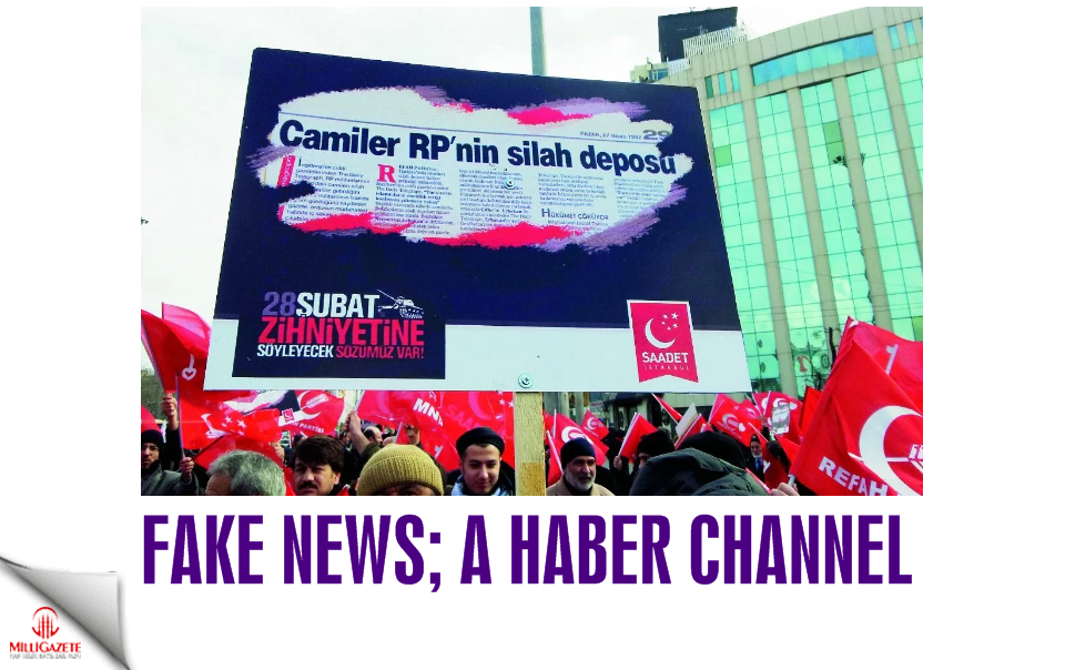 Fake news: A haber channel