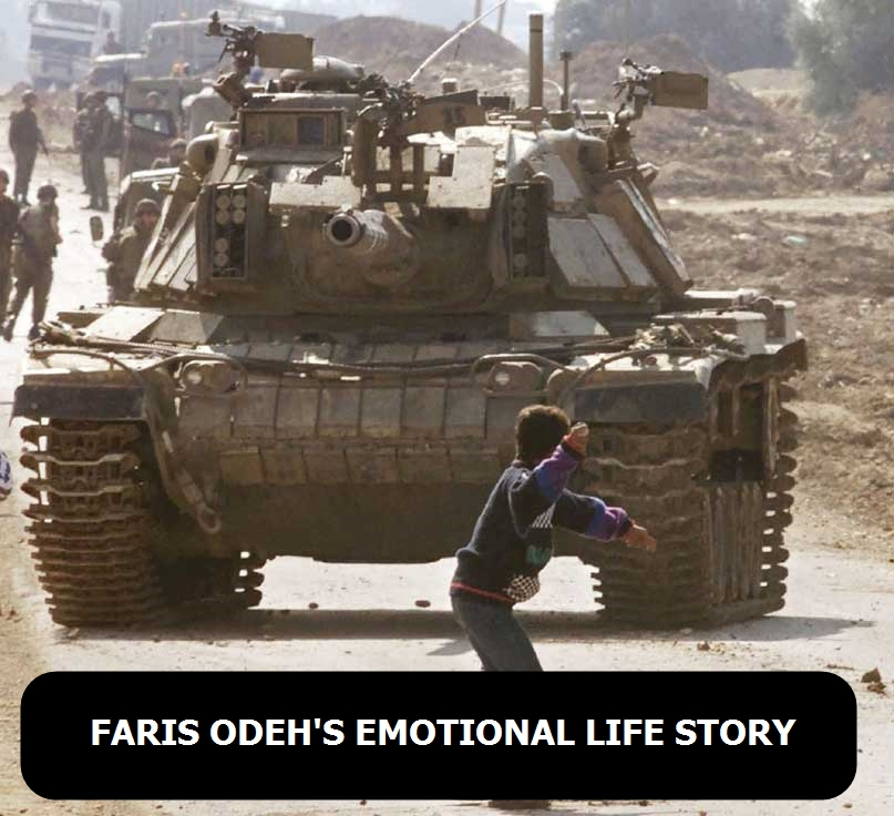 Faris Odeh's emotional life story