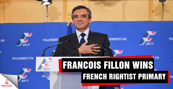 Francois Fillon wins French rightist primary
