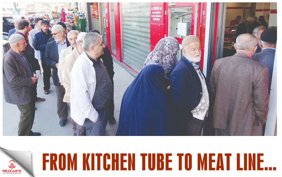 From kitchen tube to meat line...