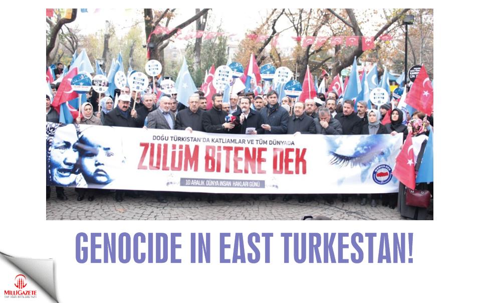 Genocide in East Turkestan!