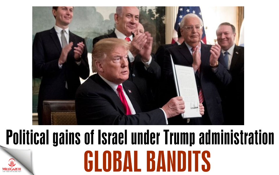 Global bandits: Political gains of Israel under Trump administration