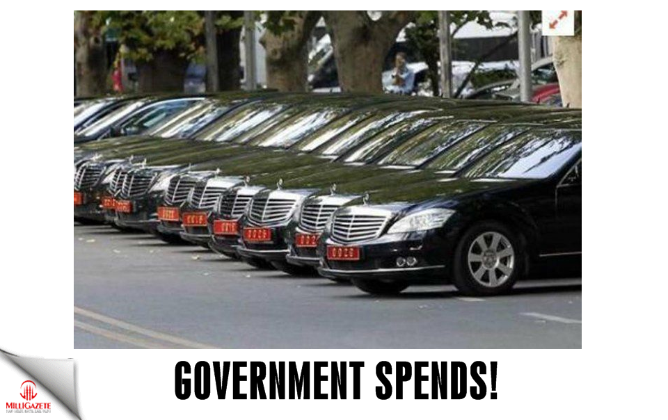 Government spends!