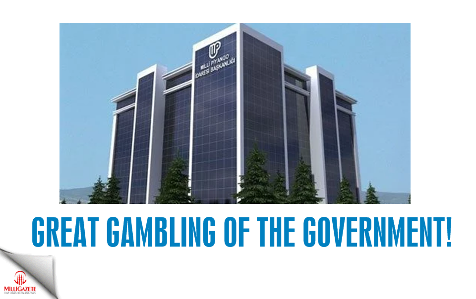 Great gambling of the government!