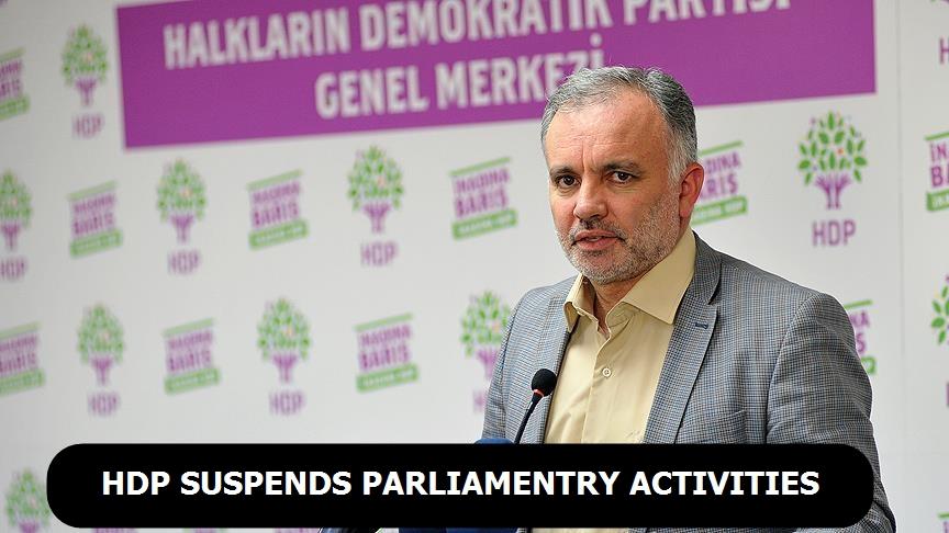 HDP suspends parliamentry activities