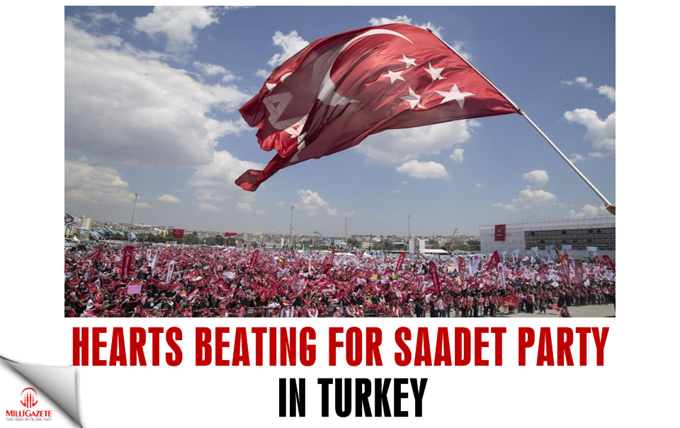 Hearts beating for Saadet Party in Turkey