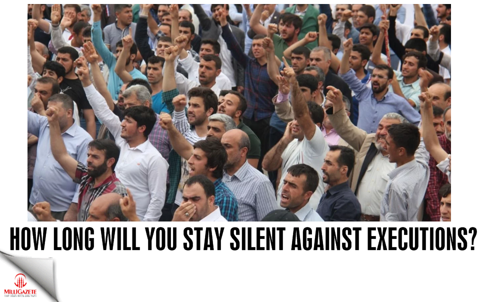 How long will you stay silent against executions?