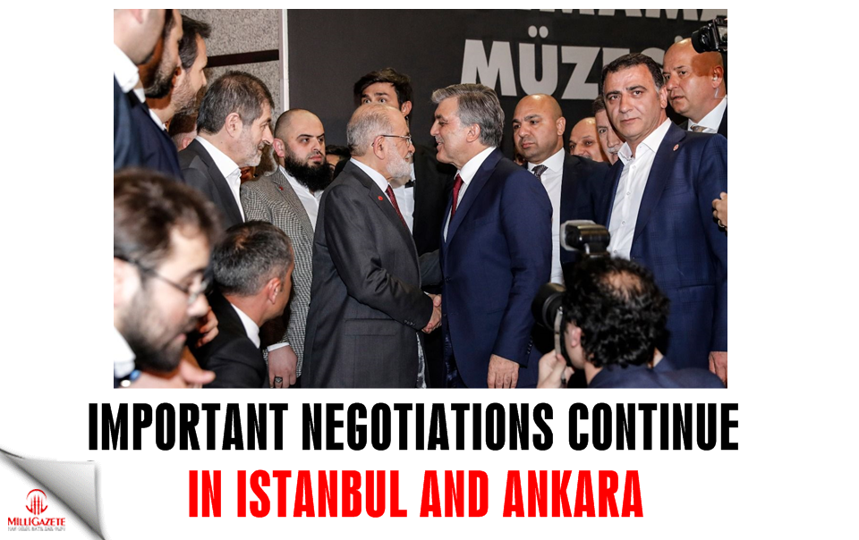 Important negotiations continue in Istanbul and Ankara
