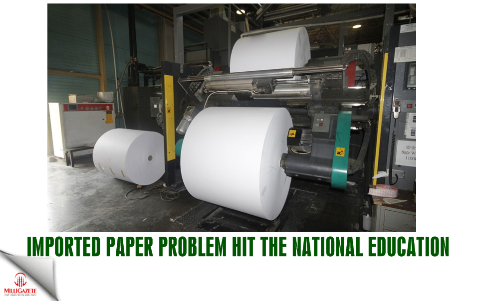 Imported paper problem hit the National Education